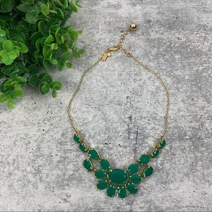 Kate Spade Green Statement Necklace AA3929